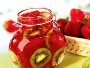 Dżem z truskawek i kiwi #strawberry #jam
