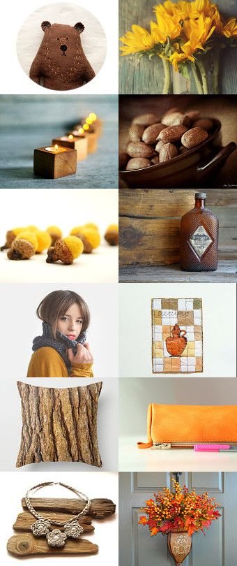 Honey and nuts by Paula on Etsy--Pinned with TreasuryPin.com