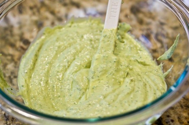 Fish Taco Sauce- this is an avocado based sauce, not the traditional baha but looks delicious!