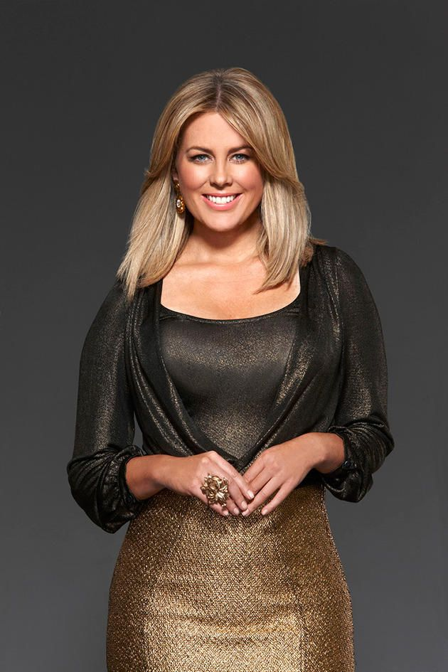 Samantha Armytage - great outfit. Love the ring.