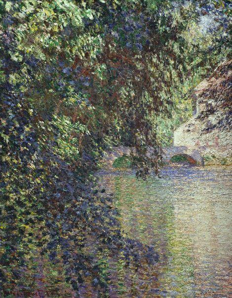 Claude Monet, Watermill at Limetz, 1888