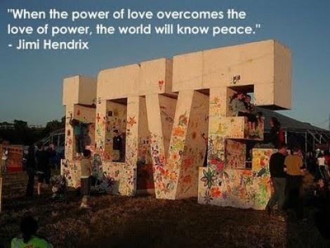 Love of power