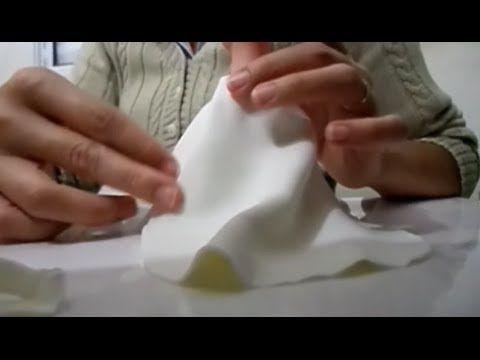 Vestido longo em tecido no biscuit