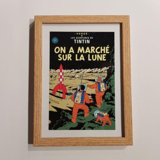 Tintin Billede I Ramme Pa Manen Billeder Thomsons I 2020 Tintin Billeder Billede