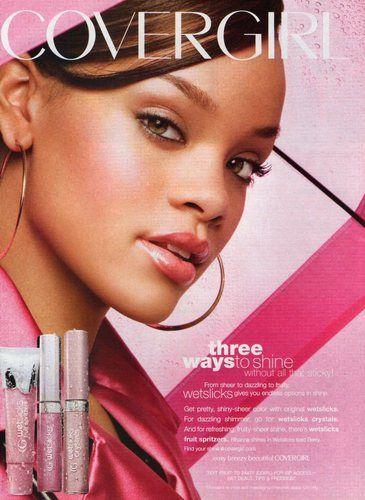 Rihanna Covergirl 2008 Magazine Print Ad Va Ebay