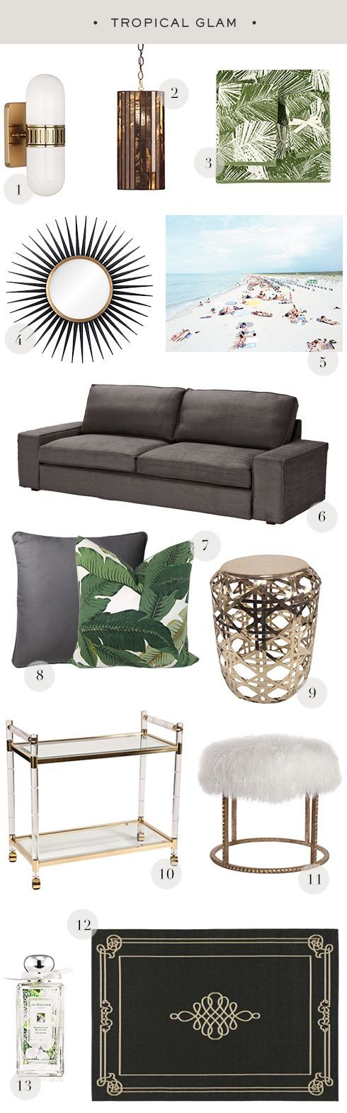 Tropical Modern for the home or office