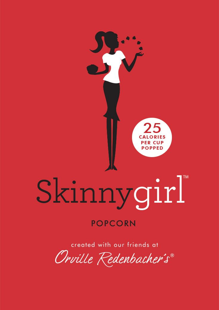 With fewer calories and better ingredients, Skinnygirl™ Popcorn—made with Orville Redenbacher's®—is bringing you flavors with a real twist.