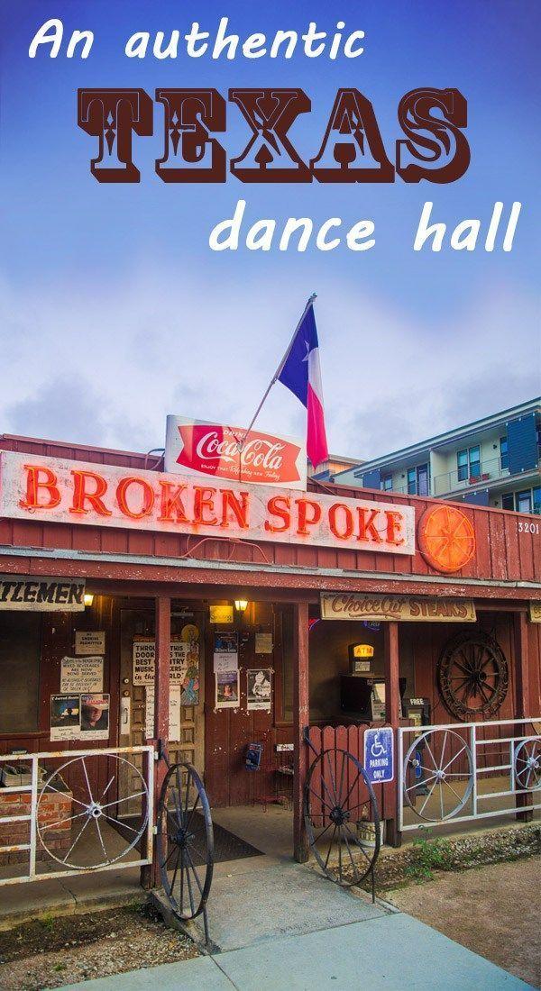 Broken Spoke: an authentic Texas dance hall in Austin