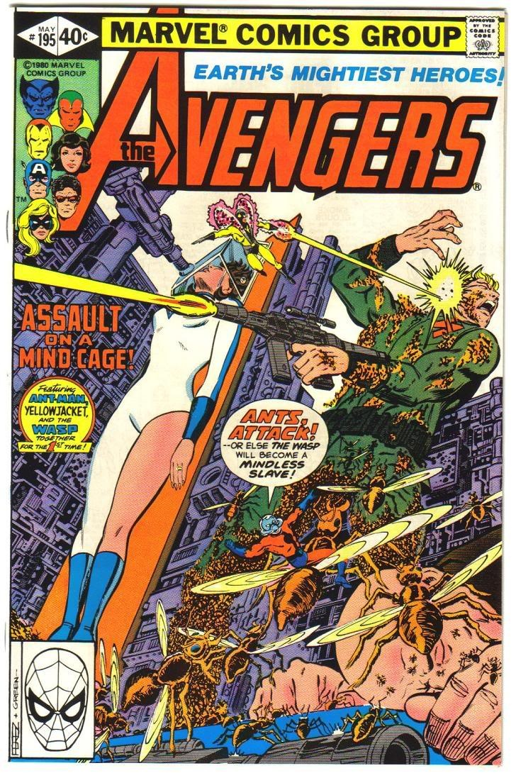 Avengers #195 -1st appearance of Task Master (cameo)