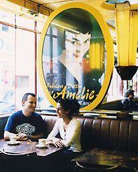 Paris cafe tribute.