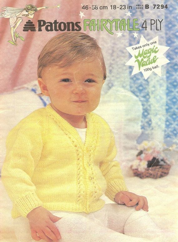 Knitting Pullover Patterns : 17 Best images about Baby Cardigans - Knitting and Crochet Patterns on Pinter...