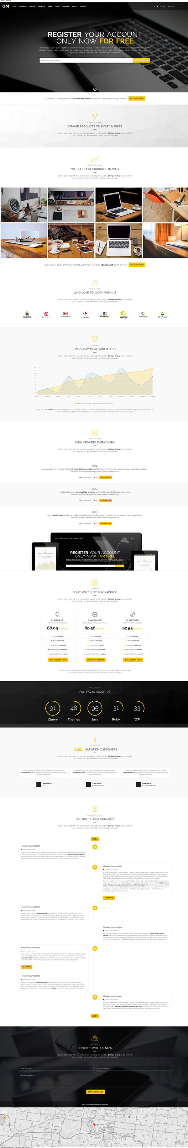 Responsive clean website webdesign . Multipurpose Premium Landing Page Design .  Get it from here - http://themeforest.net/item/multipurpose-landing-page/9768342
