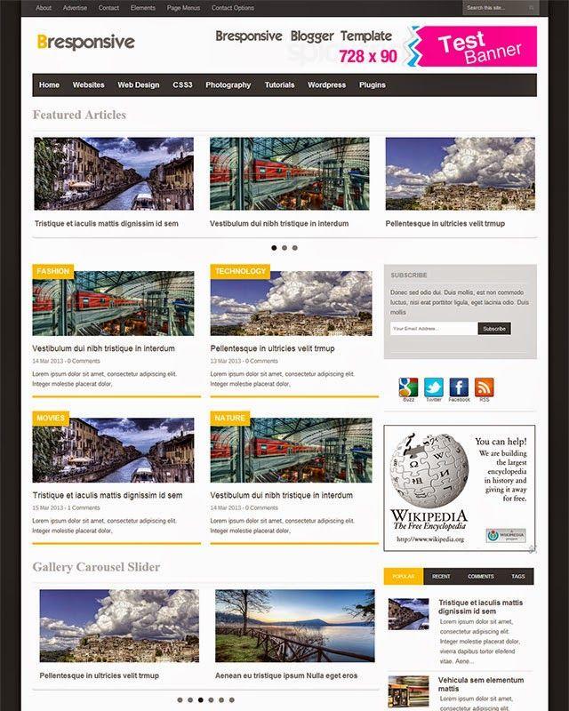 Bresponsive - Advanced Responsive Premium Magazine Blogger Template  http://www.bloggertipspk.com/2015/02/responsive-premium-blogger-template.html