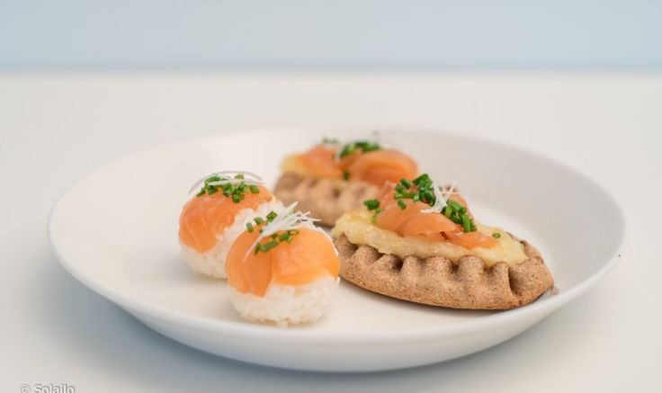 Piirakka vs Sushi