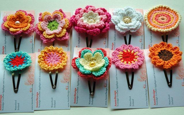 ♥broches con crochet