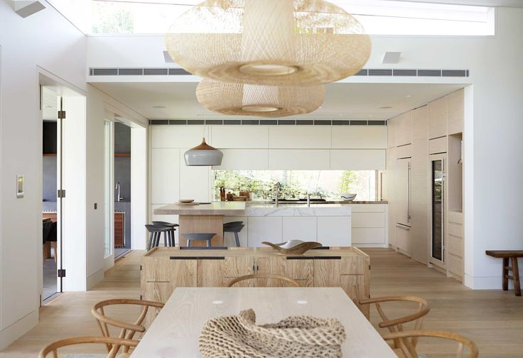 CURRAWEENA HOUSE by Hare & Klein #kitchen #dining