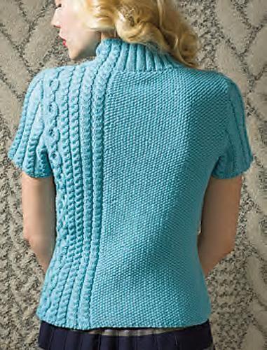 (6) Name: 'Knitting : Off Center Top [VKF12_23]