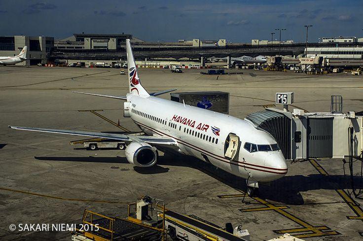 US_150224 Yhdysvallat_0031 Havana Airin kone Miamin kentällä2