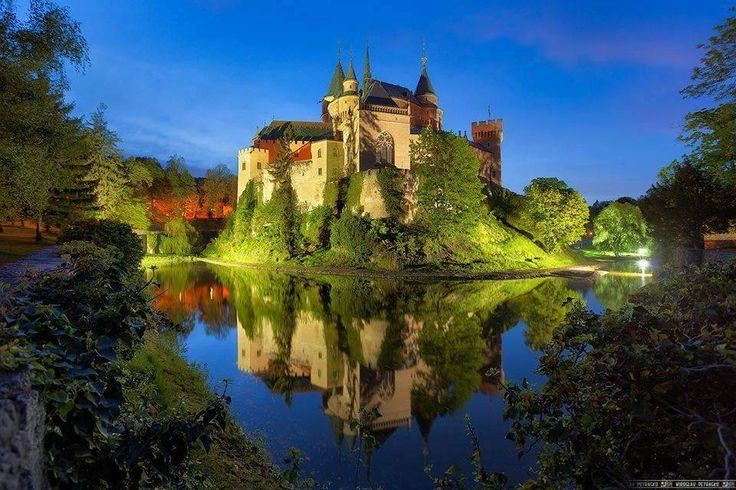 Bojnice Castle, Bratislava, Slovakia.