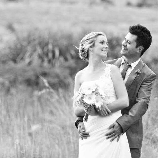 Jocelyn and Jerome, a stunning couple #pretoria #rusticvenue #pretoriavenues #casalee www.casa-lee.co.za