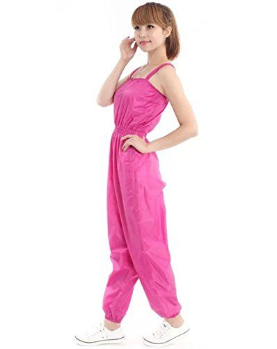 Women Slimming Pants Sanua Clothes Slimming Sweat Suit Dancing Pants Rose Red M *** You can get additional details at the image link.