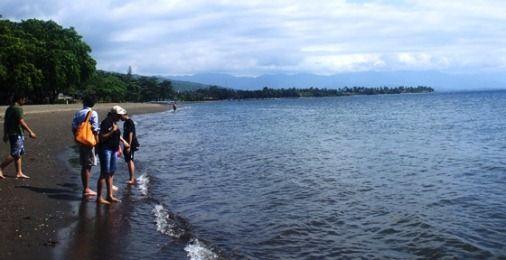 Lovely Grayish Black Sand - Lovina Beach, Bali
