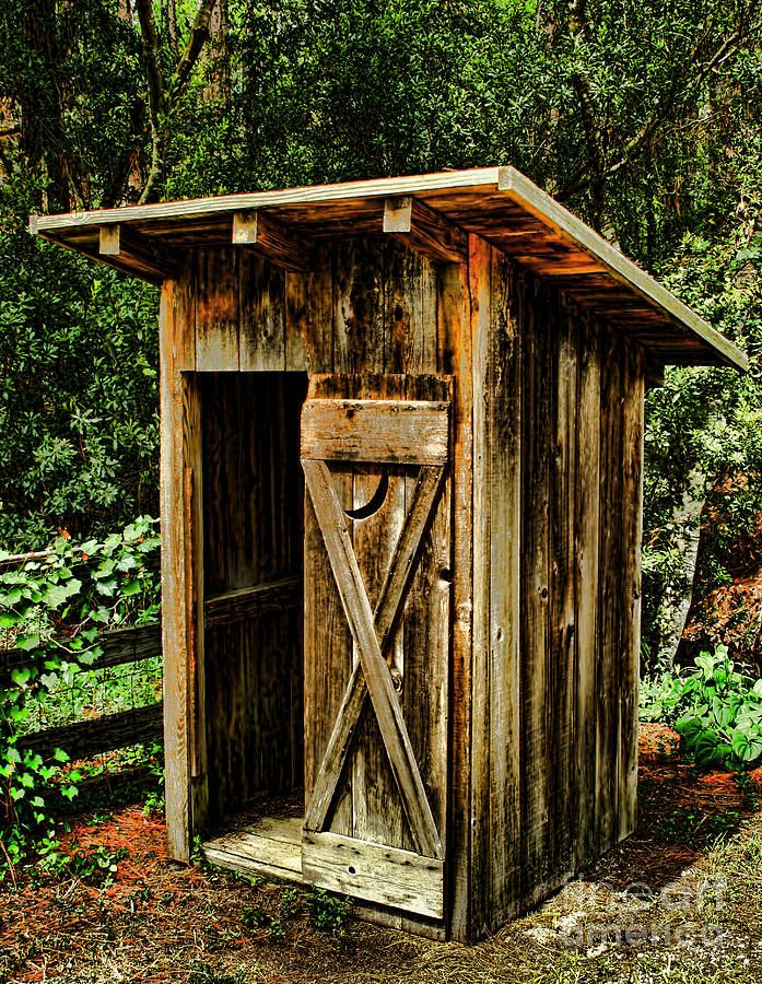 Country House Dra2wing: Outhouse Fine Art Prints And Posters For