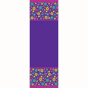 20725687 - Tablecover - Groovy Girl Groovy Girl Party Tablecover, Plastic (135cm x 270cm). Please note: approx.14 day delivery