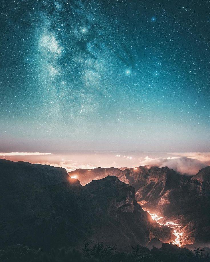 """7,284 gilla-markeringar, 101 kommentarer - Juuso Hämäläinen (@juusohd) på Instagram: """"One of the coolest experiences was to sleep under the stars on the highest mountain of Madeira """""""