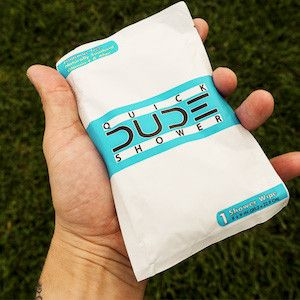DUDE Wipes Shark Tank Update Video With Mark Cuban! DUDE has become a national success with flushable wipes for men. From $250,000 to $3.2 Million in sales.