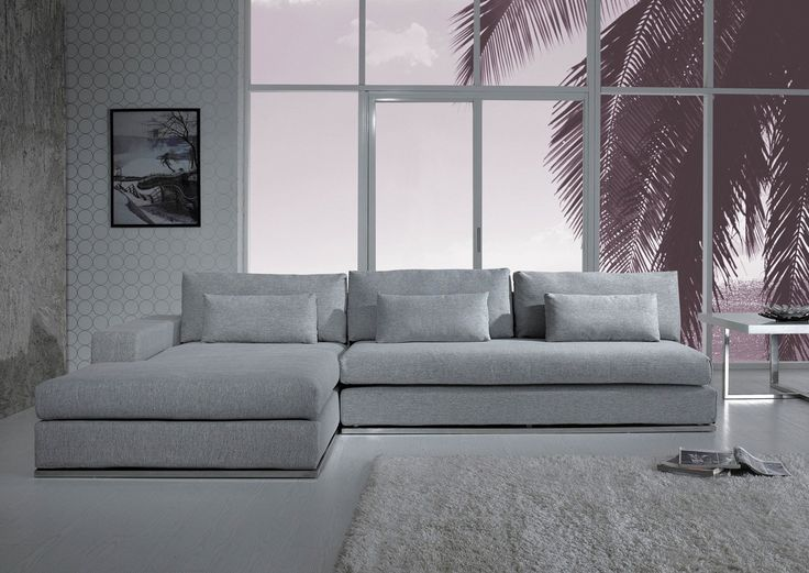 Ash Modern Fabric Sectional Sofa