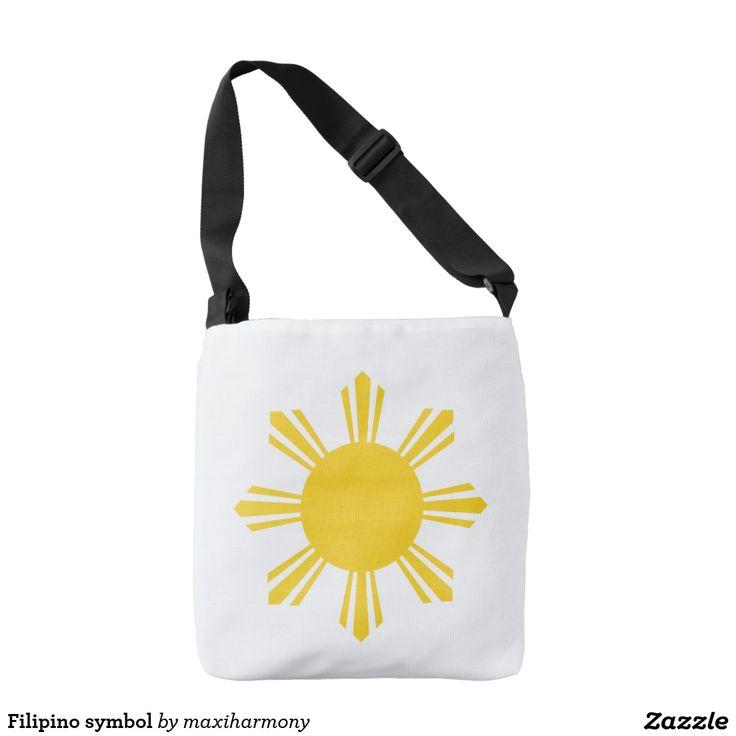 Filipino symbol tote bag