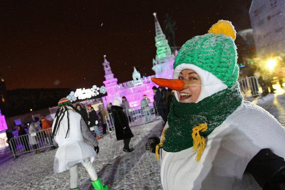 """The """"Ice Moscow"""" festival"""