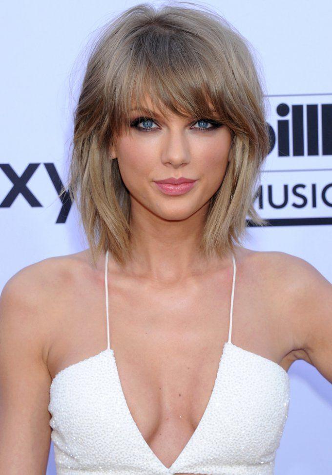 Les cheveux blonds cendrés de Taylor Swift
