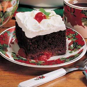 Chocolate Cake Mix Cherry Pie Filling Marshmallows