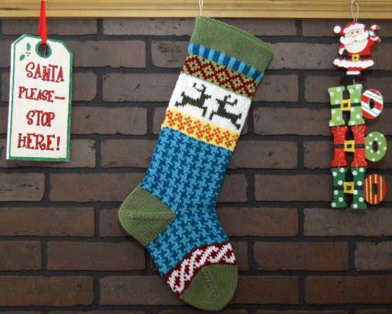 609 best Knit & crochet stockings images on Pinterest   Baby ...