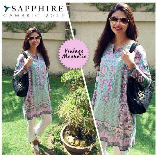 Love this Sapphire Pakistan kurta