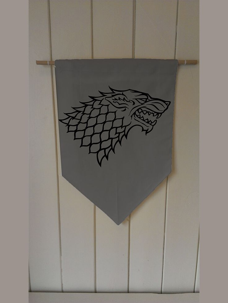 Game Of Thrones Stark Winter Is Coming - Wall Hanging Banner Flag Fabric pennant Cotton home decro decro by ThisShopReallyRocks on Etsy https://www.etsy.com/listing/209089604/game-of-thrones-stark-winter-is-coming