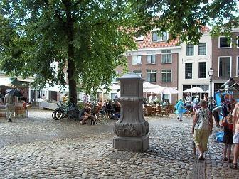 Vismarkt in Middelburg