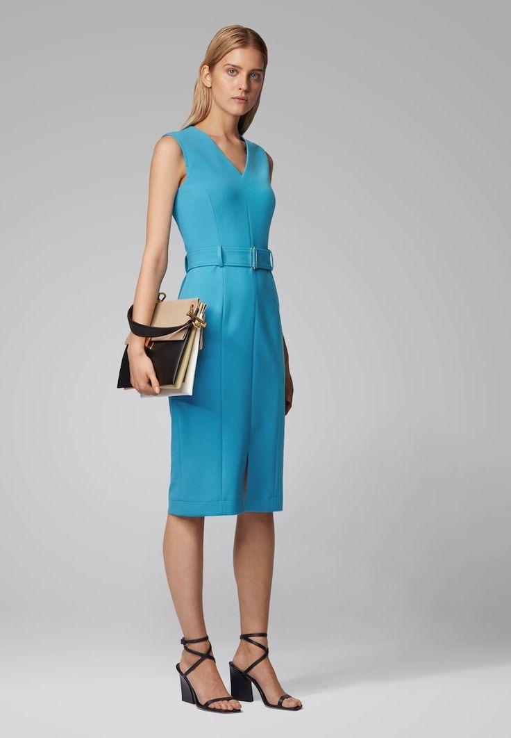 boss dadorina freizeitkleid blue zalando de jurken hugo
