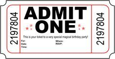 Image detail for -Free Printable Birthday Party Invitations - Kansas Magician www.happybirhtdaymagic.com