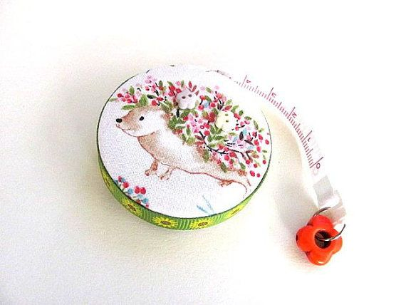 Measuring Tape Spring Hedgehogs Retractable Tape Measure