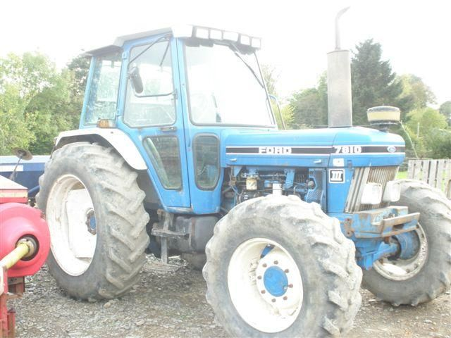 Ford 7810 Tractor at Ella Agri Tractor Sales Mid and West Wales