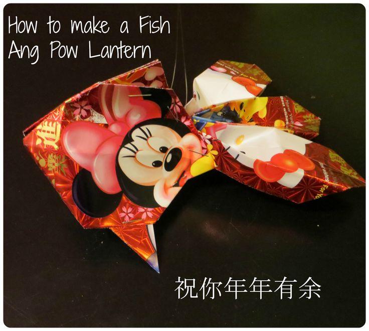 How to make a Fish Lantern using Ang Pow