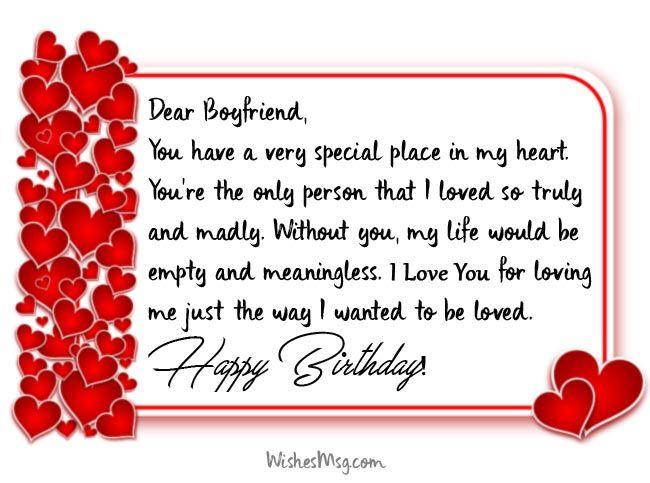 Long Birthday Wishes For Boyfriend Birthday Wishes For Boyfriend Long Birthday Wishes Romantic Birthday Wishes