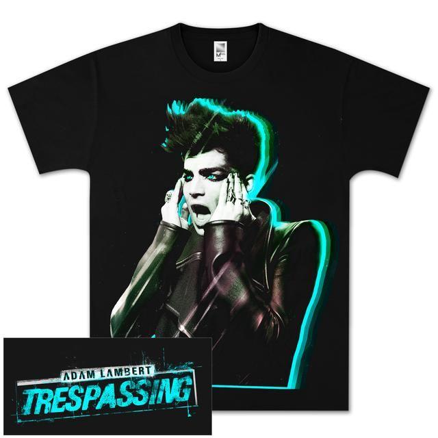 Adam Lambert Electric Shock T-Shirt