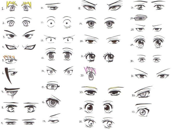 Best 25 Como dibujar ojos anime ideas on Pinterest  Como dibujar