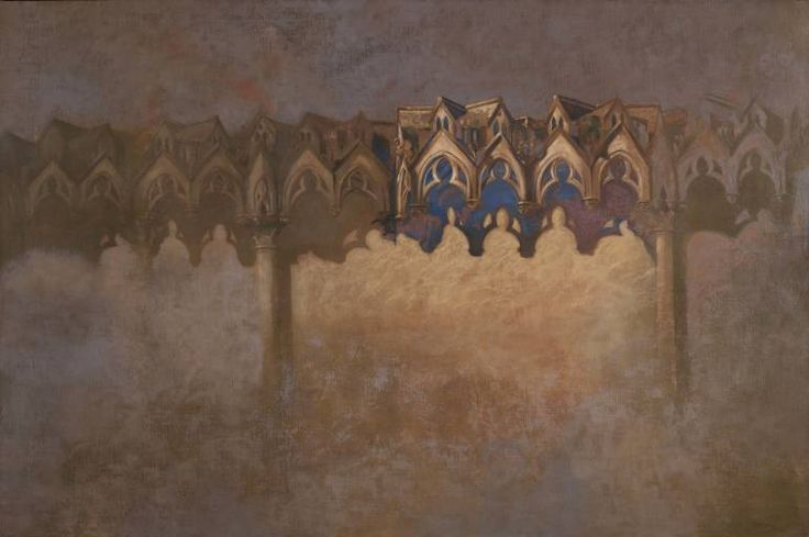 "Saatchi Art Artist Juan Manuel Álvarez Cebrián; Painting, ""Landscape Gothic"" #art"