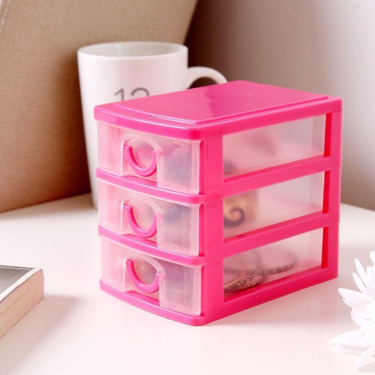 Розовый комод для мелочей (335 руб.)