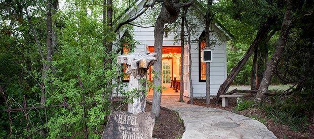 Fort Worth wedding chapel | Chapel in the Woods, Glen Rose near Granbury | Ft Worth wedding